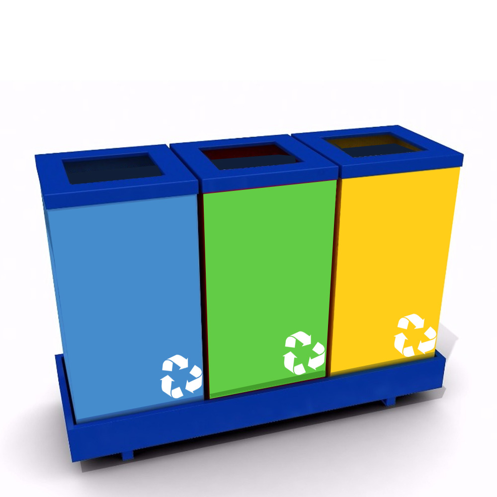Recycle bin 3 compartments 105KB